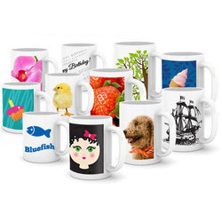Ceramic Mug 11oz Sublimation Mug Printing Service
