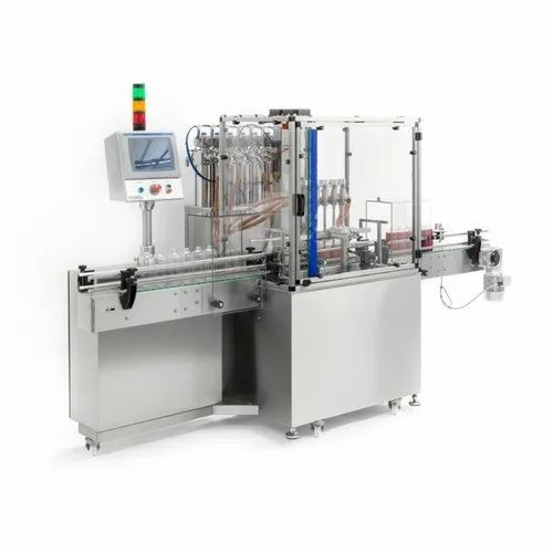 Automatic Six Head Filling and Capping Machine