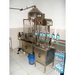 Water Bottle Filling Machine