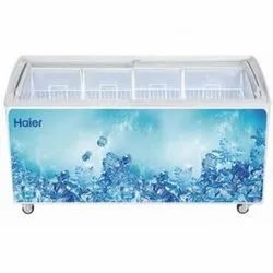 Haier 551 Litter Semi Curved Glass Top Freezer HCF-551FGTQ