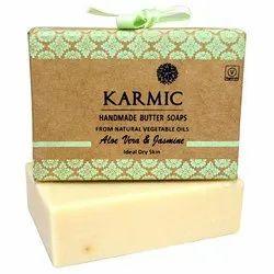 Aloe Vera And Jasmine Soap, Packaging Type: Box
