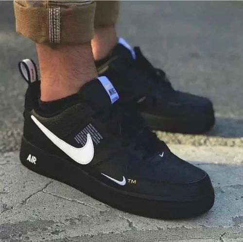 Black Nike airforce, Size: 41-44, Rs
