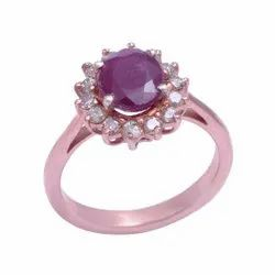Fine Make Gemstone Silver Ring