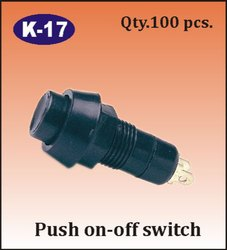 K-17 Push On-Off Switch