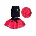 Girls Designer Skirt And Top