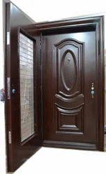 Teakwood Twin Door
