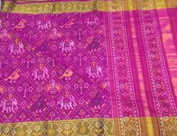 Ethnic Patola Silk Saree