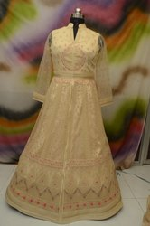 Ladies Long Wedding  Wear Gown