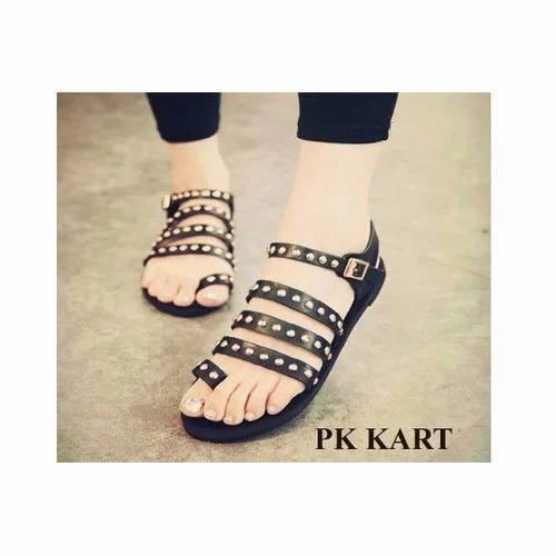 52825482c6e3c7 Fancy Women Flats Sandal at Rs 250  pair