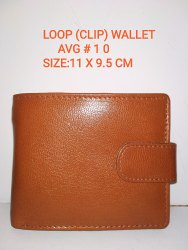 Brown Bi Fold Leather Wallets For Men, Card Slots: 6