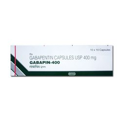 Gabapin 400 mg, Packaging Type: Strip