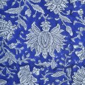 Cotton Sanganeri Block Print Running Fabric Floral By Yards