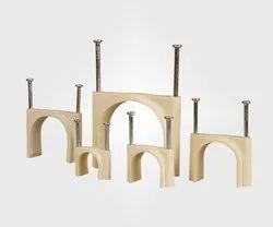 CPVC & UPVC Nail Clamps, Size Range: 1/2-2 inch