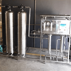 Industrial SS 2000 LPH RO Plant