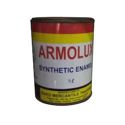 RMT Mid sheen 4 L Armolux Synthetic Enamel Paint, Packaging Type: Tin