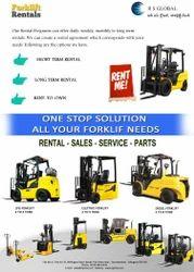 Japan, Korea Forklift Rental, For Material Handling