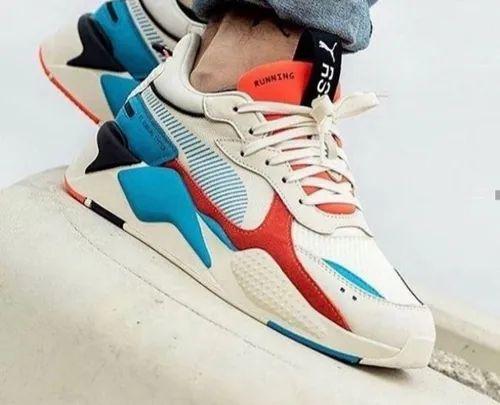 Men Multicolor Puma RSX Shoes, Size: 41
