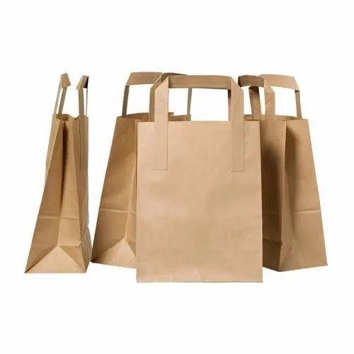 Brown Plain Paper Bag Kraft