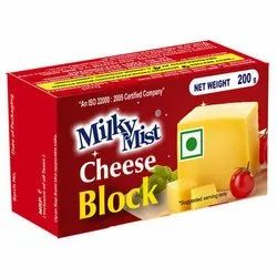 Milky Mist Cheese Block, Packaging Size: 200 Gm, Packaging Type: Box