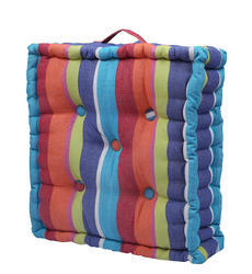 Floor Cushion With Stripes