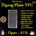 Silicon Oppo A11k Transparent Mobile Back Cover