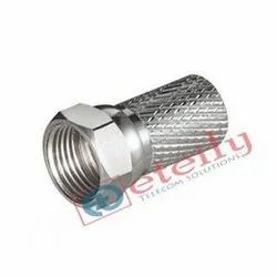 Rg 6 F Connector Tv Aerial Cable Screw Twist Coax