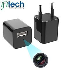 Ifitech - 1080p HD Hidden Camera Plug Usb Charger, 32gb Sd Card Support, 2 Mode Recording, Nanny Ca