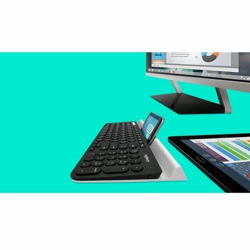 220d38f3c7f Logitech K780 Multi-Device Wireless Non-Speckled Keyboard - Logitech ...