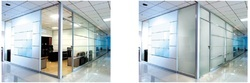 Natural, Transparent Plastic Privacy Film, for Office, Packaging Type: Box