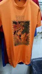 Sublimation Bhagwa T Shirt