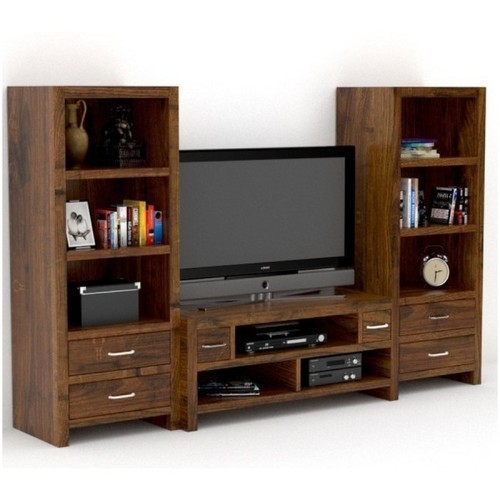 Living Room Cabinet Design In India: Designer Living Room Wooden TV Cabinet, Rs 24000 /piece