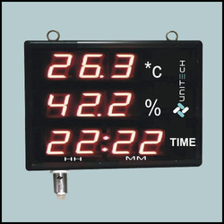 Large Temperature And Humidity Indicator