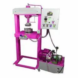 Semi Automatic Sugarcane Bagasse Plate Making Machine