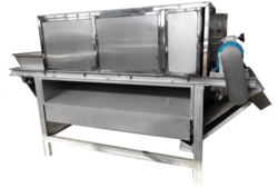 Garlic Peeling Machine Chain Type