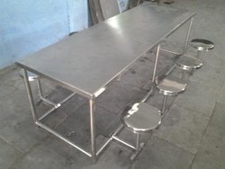 SS 304 Grade Folding Type 8 Seater Dinning Table