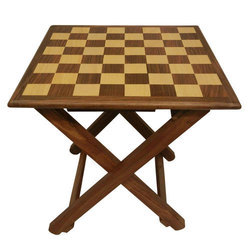 Chess Table With Stand