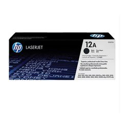 HP 12A Black Original Toner Cartridge