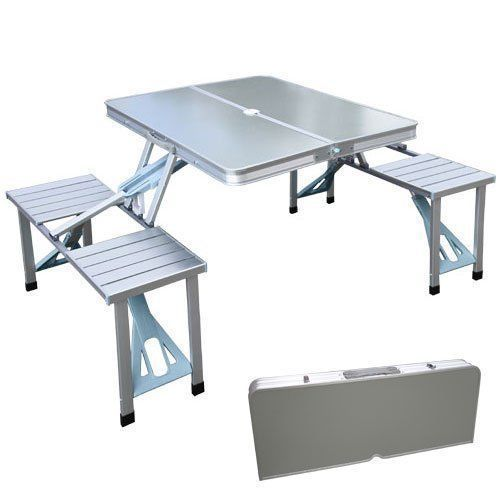 Standard Portable Aluminium Folding Picnic Table