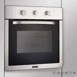Black And Gray Capella BOC 607 Turbo Built in Oven, Capacity: 59 L