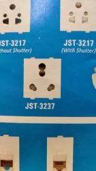 3007 White Oreva Modular Switches, ON/OFF, Switch Size: 1 Module