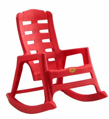 Red National Babylon Rocking Chair National Plastic