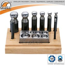 Jewelry Tools 9 Pieces Dapping Set