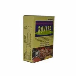 Pharmaceutical Rovite Capsules, Grade Standard: Medicine Grade, Packaging Type: Box