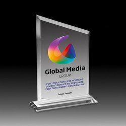 Global Media Acrylic Trophy