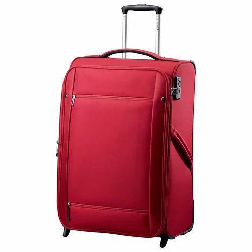 Fibre Plain Trolley Bags, Size: 20 Inch 2
