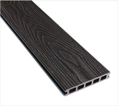 Wpc Exterior Floor Decking Wood Grain Finish Brown