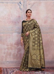 Designer Party Wear Silk Sarees
