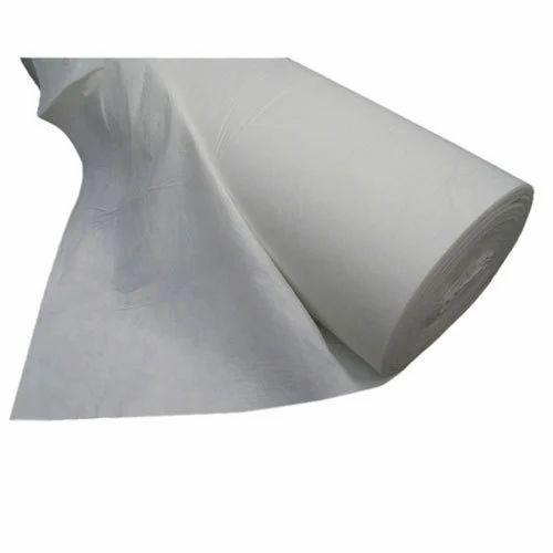 White Geotextile Fabrics