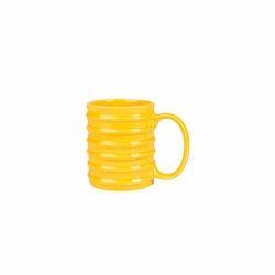 Yellow Ceramic Coffee Mug