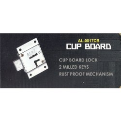 AL-0017 CB Cupboard Door Lock, For Doors, Chrome